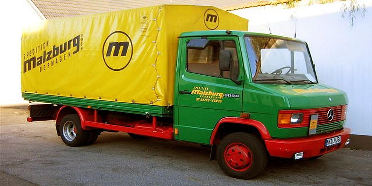 Fahrzeug für Sonderfahrten